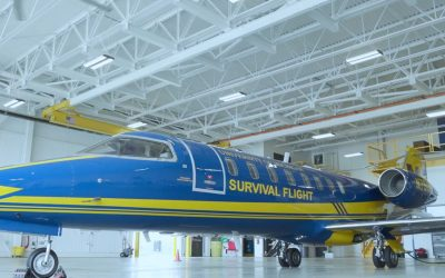 Michigan Medicine's Survival Flight Adds New Jet to Improve Patient Care