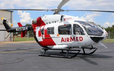 Metro Aviation delivers EC145e to University of Utah