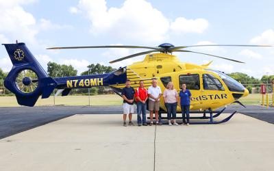 Metro Aviation delivers H135 to Washington Hospital Center